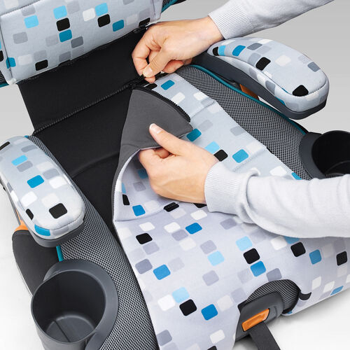 Chicco KidFit Zip 2 In 1 Belt Positioning Booster Seat
