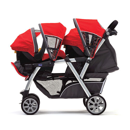 Chicco Cortina Together Double Stroller Romantic