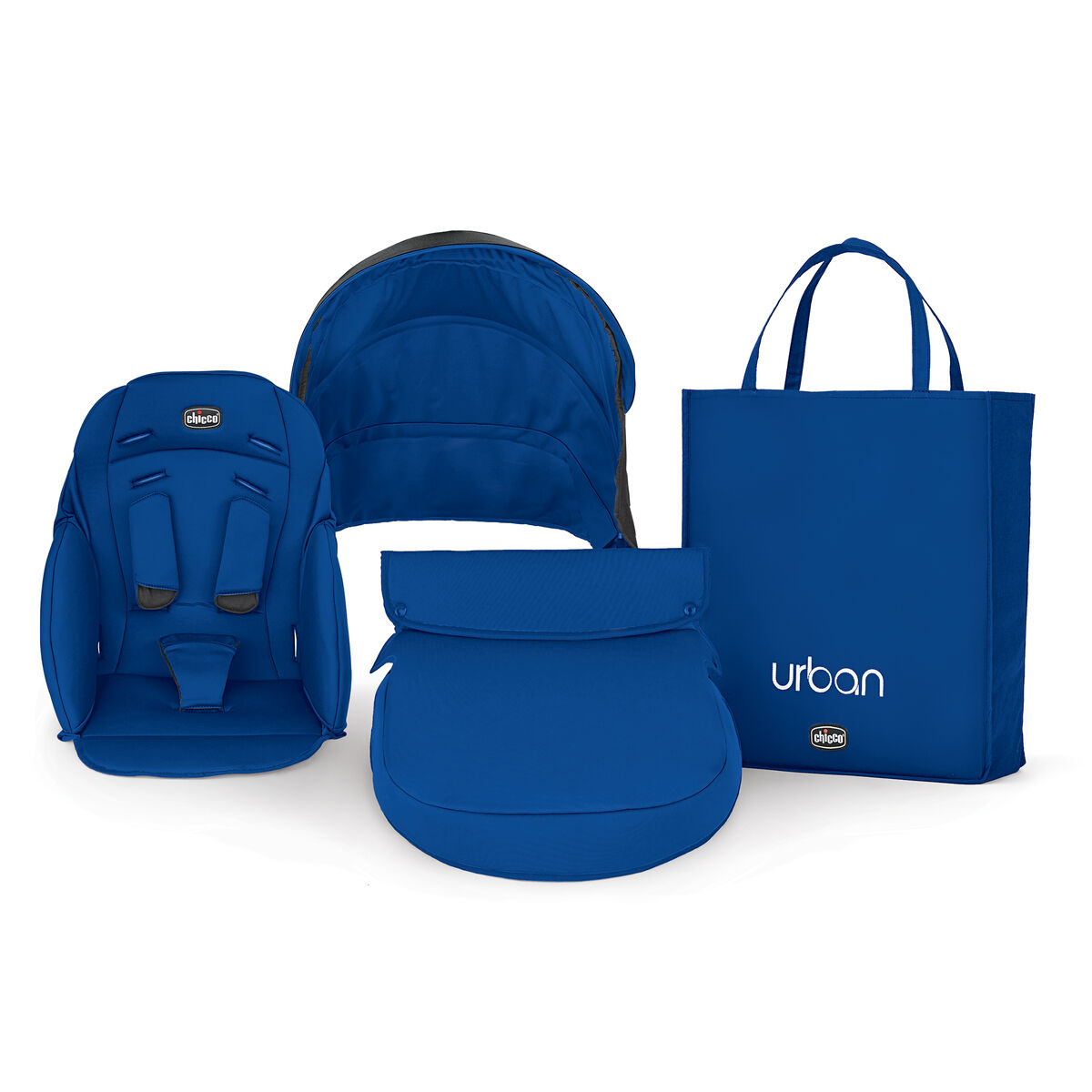 Chicco Urban Stroller Color Pack Accessory Kit Blue