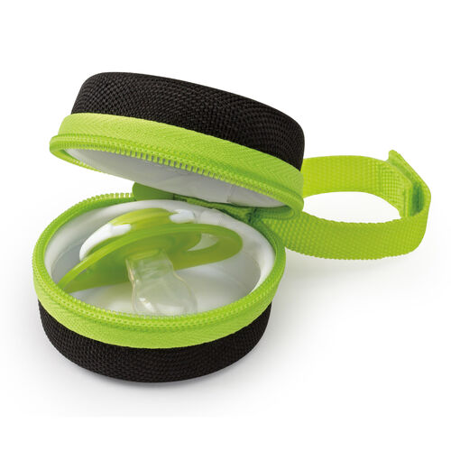 The NaturalFit PACI-ROO Travel Case keeps your baby's extra pacifier clean and close by