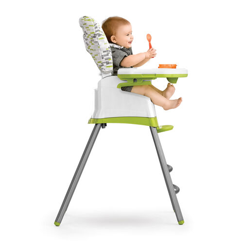 For infants who are learing to sit and enjoy food, the padded, 3 position recline is prefect for newborns and infants