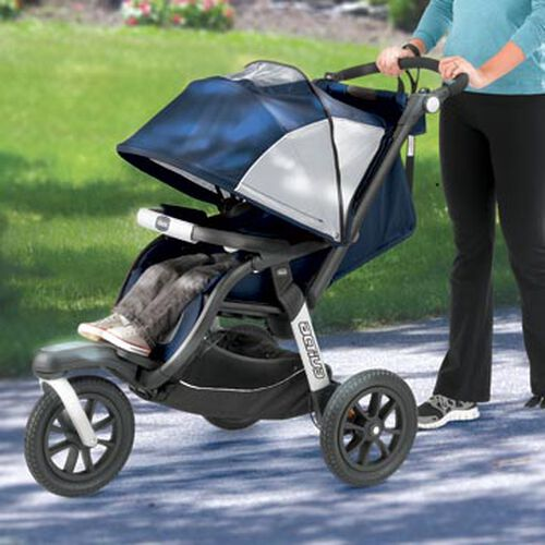 The Activ3 Jogging Stroller is a stylish and sporty stroller for everyday use or fitness and jogging