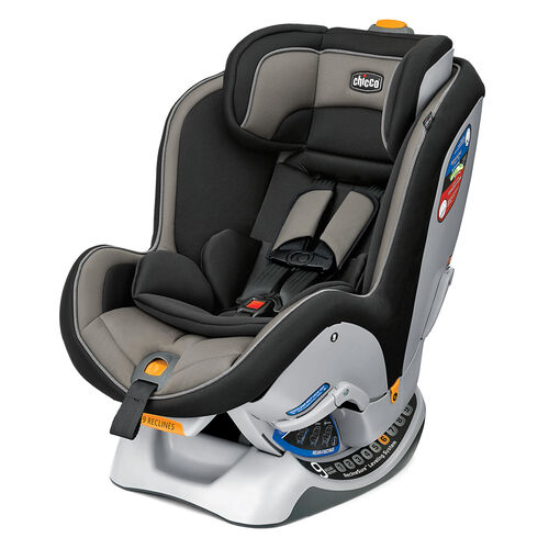 Chicco NextFit Convertible Car Seat Gravity - black with beige gray accents