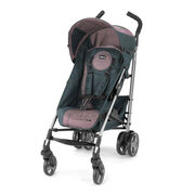 The chicco litewy Plus stroller is available in lyra - purple and black colors