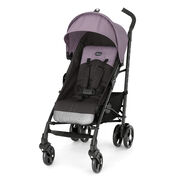 Let the Chicco Liteway® Stroller – Lilac make all your travel outings easier, or make a new parent happy when you give it as a gift.