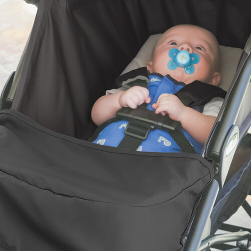 The liteway stroller features 5 position recline including a fully recline backrest