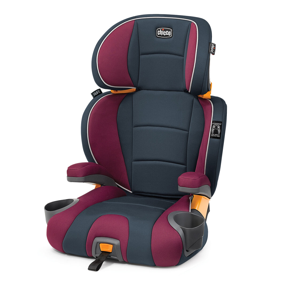 Kidfit 2 In1 Belt Positioning Booster Seat Amethyst