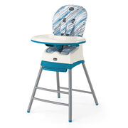 Chicco multi stage highchair converts from infant mode all the way up to a booster seat for big kids.