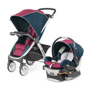 Bravo Trio Travel System - Blackberry in