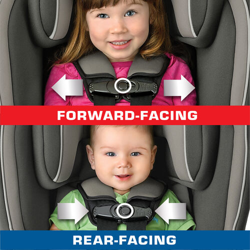 Switching Car Seat To Front Facing