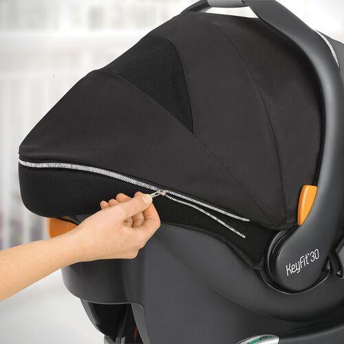 KeyFit 30 Zip infant car seat & base - Genesis in