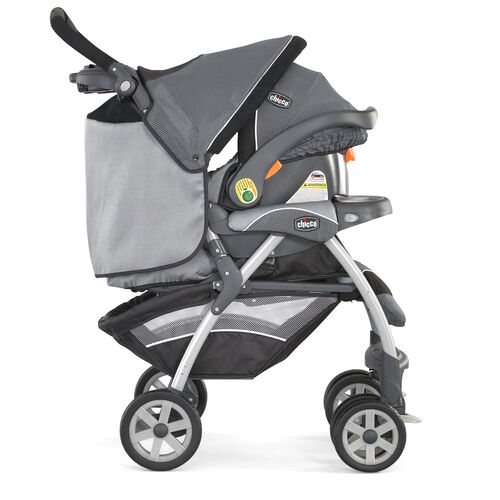 Chicco Cortina KeyFit 30 Travel System Graphica - stroller and KeyFit 30 Infant Car Seat combined - Cortina KeyFit 30 Travel System Endless Possibilities
