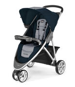 Chicco introduces our lightest stroller yet weighing only 18lbs with one-hand quick fold and stand alone feature