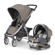 Bravo Trio Travel System - Naturale in