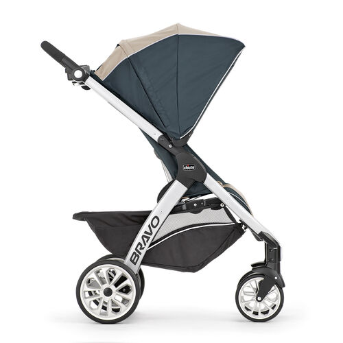 After baby grows out of the car seat, transition into stroller mode for everyday travels