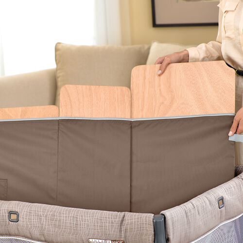 chicco lullaby playard rattania removable floor boards