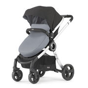 Chicco Urban 6 in 1 Modular Stroller in Black and Coal Gray