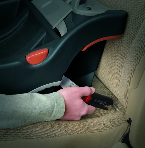 Chicco's KeyFit 30 base can be installed using the vehicle belt or vehicle LATCH anchors