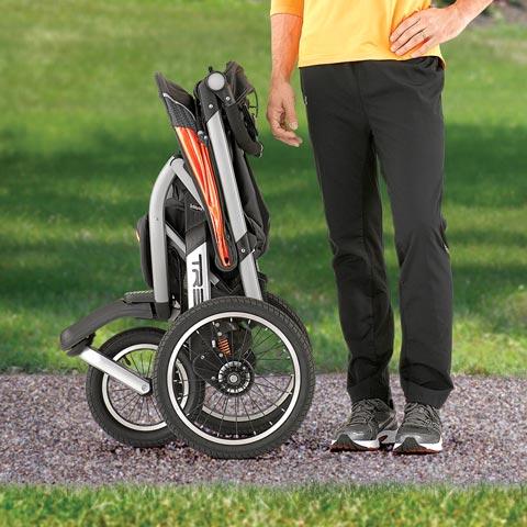 Chicco TRE Stroller Fold Radius