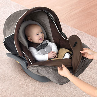 Keyfit Magic Infant Car Seat Coal Chicco