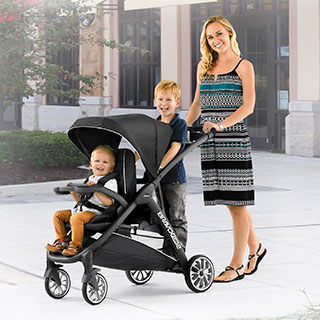 Chicco Bravofor2 Le 2 Passenger Standing Sitting Quick