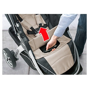One-Hand Lift - Smartest Quick Fold Stroller In Its Class