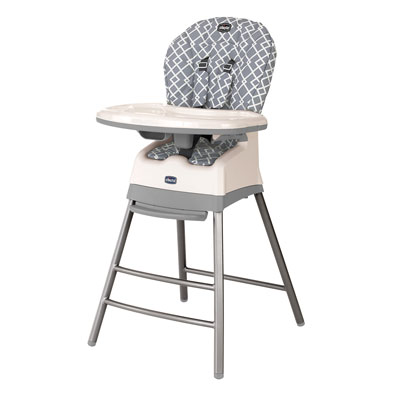 Chicco 3 in 1 Stack highchair in Earl Grey - babies r us high chairs
