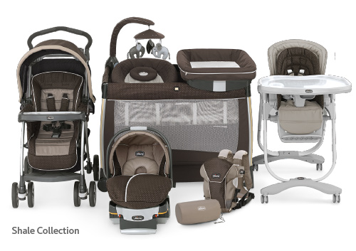 The Shale Collection by Chicco - Premium Features and Modern Craftsmanship