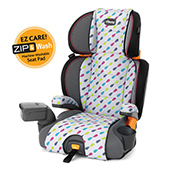 KidFit Zip Booster Car Seat - car seat cleaning instructions
