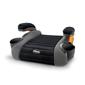 Designed for Big Kids 4 years and older - GoFit Backless Booster Car Seat - Shark