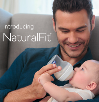 NaturalFit bottles are the only bottles designed to truly bio-mimic breastfeeding