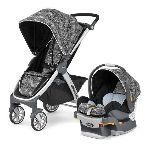 Bravo Trio System Stroller and Infant Car Seat - Rainfall
