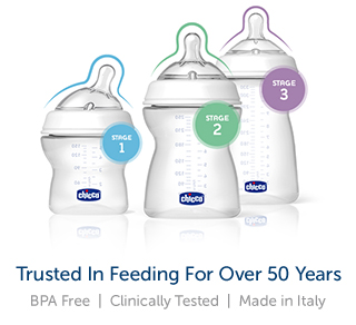 Trusted in Feeding for over 50 Years: BPA Free | Clinically Tested | Made in Italy