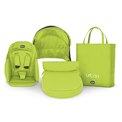Urban Stroller Green Color Accessory Kit