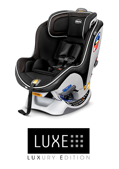 The new NextFit iX convertible car seat offers breathable fabrics with zip and wash features