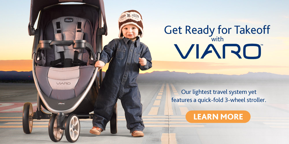 Introducing the Viaro travel system by Chicco - Our lightest travel system.