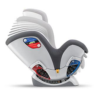 Chicco Nextfit Zip Converible Car Seat Andromeda
