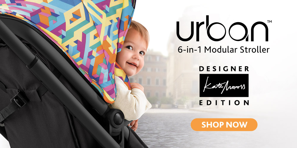 Kate Moross and Chicco bring to you the Itty Bitty City - Urban Stroller - designer edition