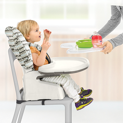 Chicco Stack 3 In 1 Highchair Icicle