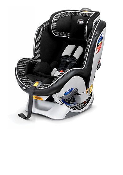 The NextFit iX convertible carseat offers innovation from an easy pull harness strap to steel-reinforced frame